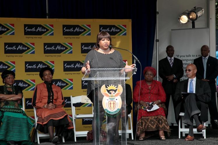 Zindzi Mandela - Photos: Kristina Lapinski